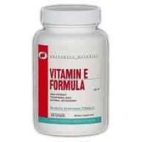 Universal Nutrition Vitamin E Formula (100 капс)