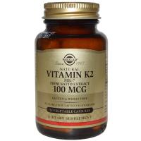 Solgar Vitamin K2 MK-7 100 mcg (50 капс)