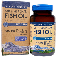 Wiley's Finest Wild Alaskan Fish Oil 1250 mg