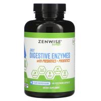 Zenwise Health Daily Digestive Enzymes with Prebiotics + Probiotics