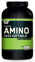 Optimum Nutrition Superior Amino 2222 Caps  (150 капс)