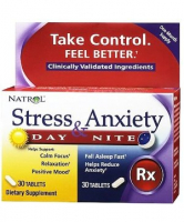 Natrol Stress & Anxiety Day & Nite (20 таб)